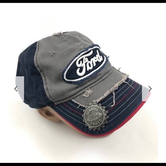 fd0609b37c0 FORD Other - Vintage Inspired Ford Distressed SnapBack Hat
